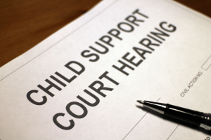 A legal paternity test can help with child support